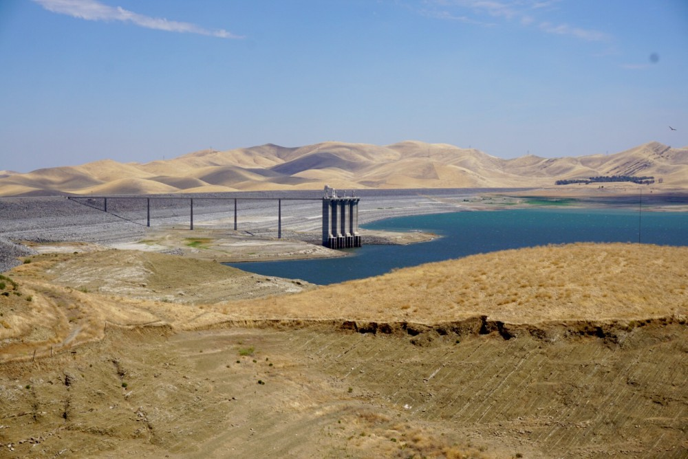 San Luis Reservoir, August 4, 2016